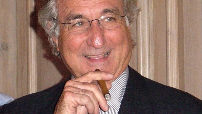 Image of Bernie Madoff for Money Week article written by Rise Of Carry author Tim Lee