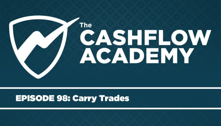 Cash Flow Academy podcast host Andy Tanner interviews Rise Of Carry author Kevin Coldiron